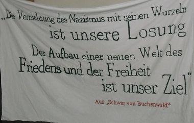 Noch unerfüllt: Schwur von Buchenwald